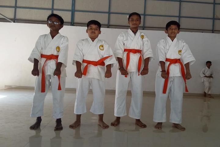 Sree Sankara Vidya Peedhom English Medium School-Karate