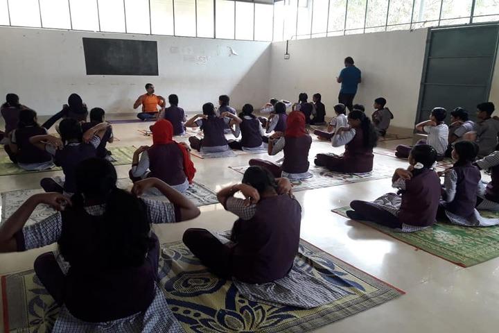 Sree Sankara Vidya Peedhom English Medium School-Yoga