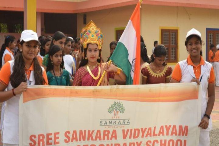Sree Sankara Vidyalayam English Medium School-Republic Day
