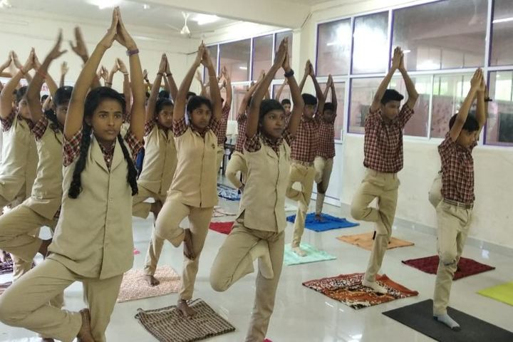 Sree Sankara Vidyalayam English Medium School-Yoga