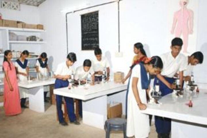 Sree Saraswathy Vidya Mandir-Science Lab