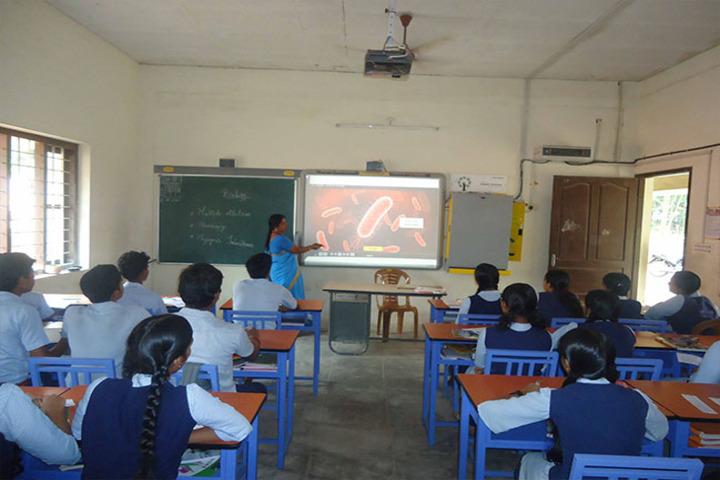 Sree Saraswathy Vidya Mandir-Smart Classroom