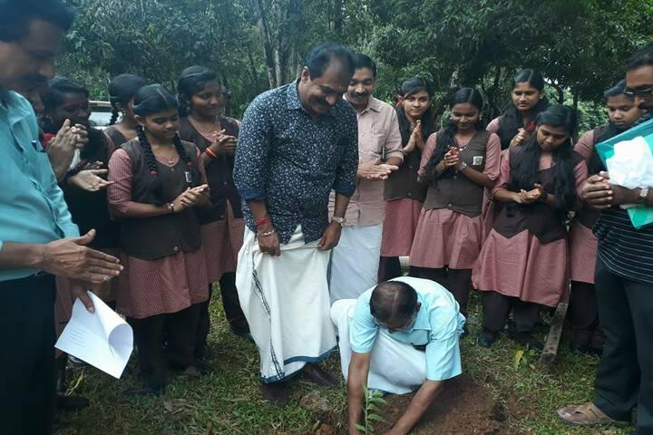 Sree Vijayananda Vidya Peedom-Plantation Day