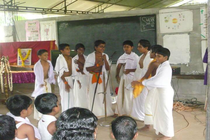 Sree Vijayananda Vidya Peedom-Singing Activity