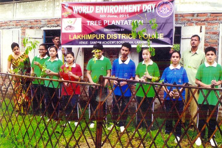 Sangam Academy- Environment Day