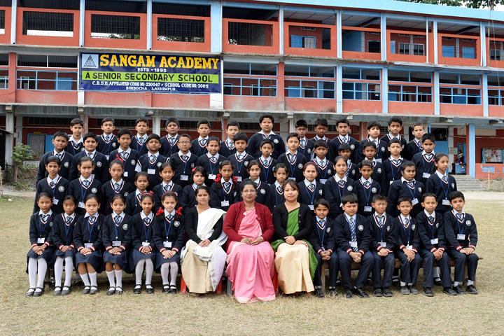 Sangam Academy-Class Photo