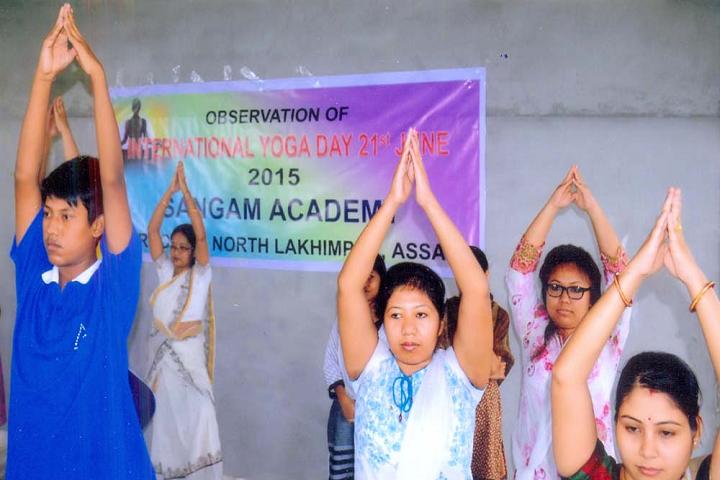 Sangam Academy-Yoga Day