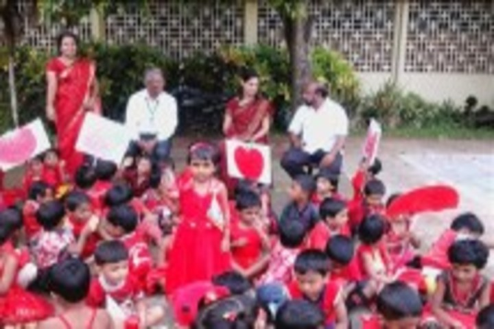 St Francies D Assisi Senior Secondary School-Red Day