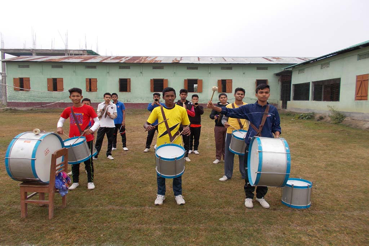 S E R S Public School-Playing Drums