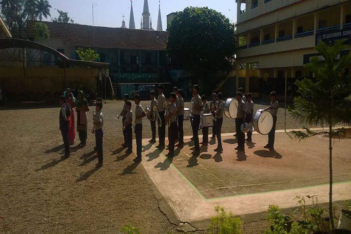 St Gregorios English Medium School-Band Troop