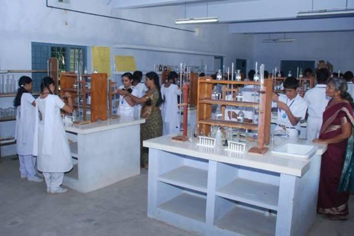 St Gregorios English Medium School-Chemistry Lab