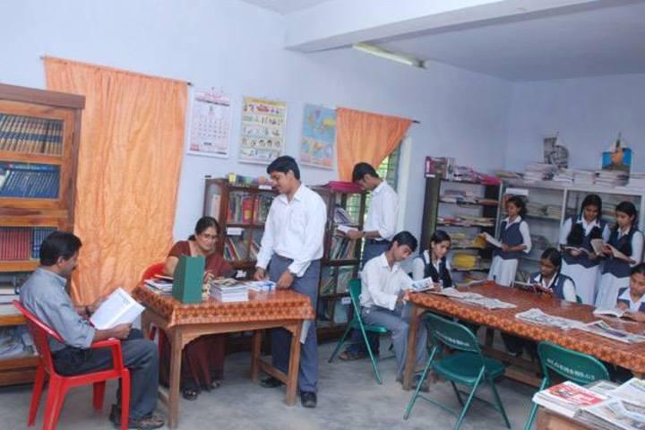 St Gregorios English Medium School-Library