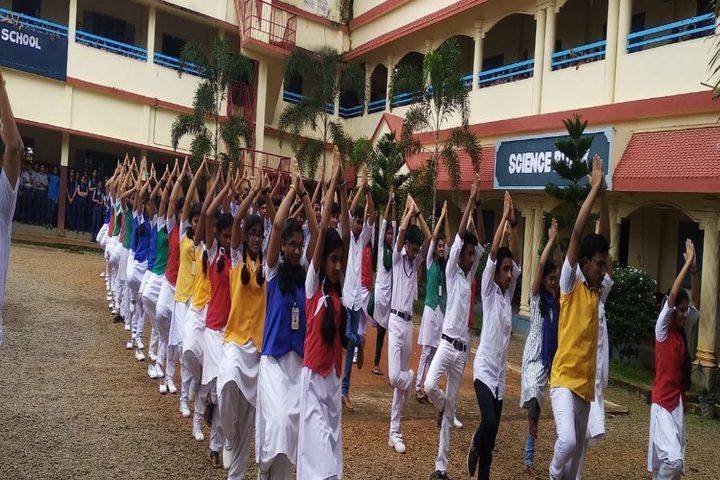 St Gregorios English Medium School-Yoga