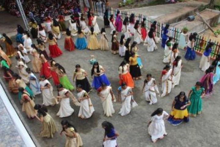 St Joseph English Medium School-Onam Celebration