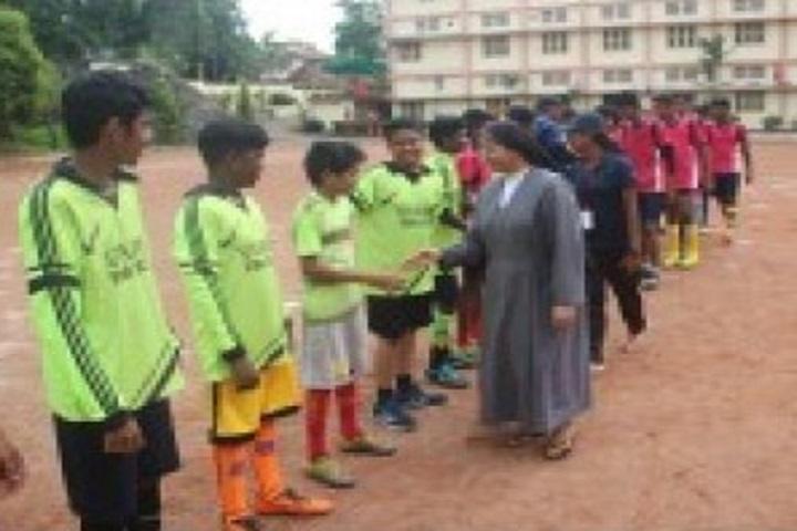 St Joseph English Medium School-Sports Team