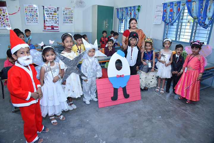 Shree Agrasen Academy-Christmas Celebrations
