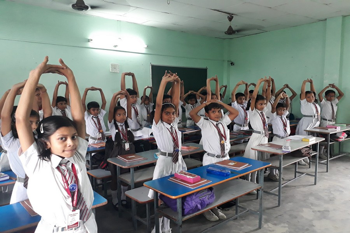 Shree Agrasen Academy-Classroom Yoga