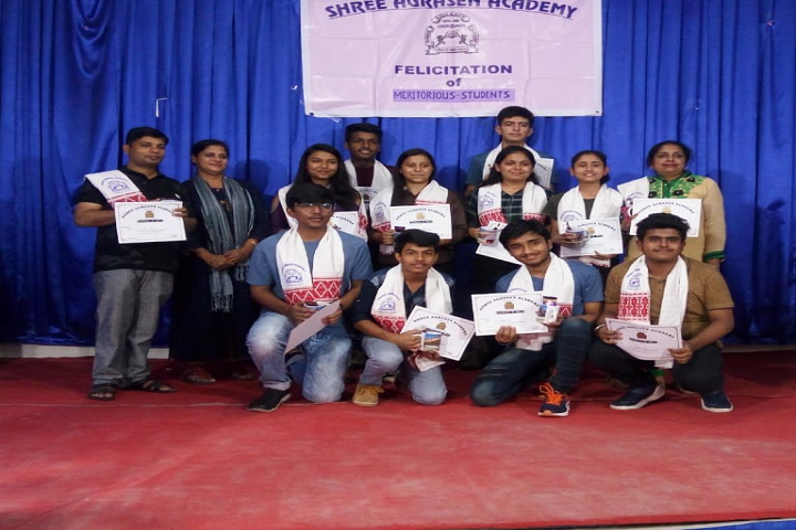 Shree Agrasen Academy-Felicitation