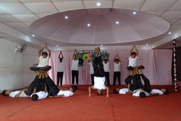 St Jude Public School-International Yoga Day
