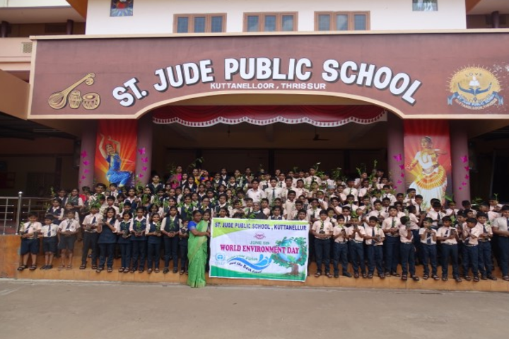 St Jude Public School-World Environment Day