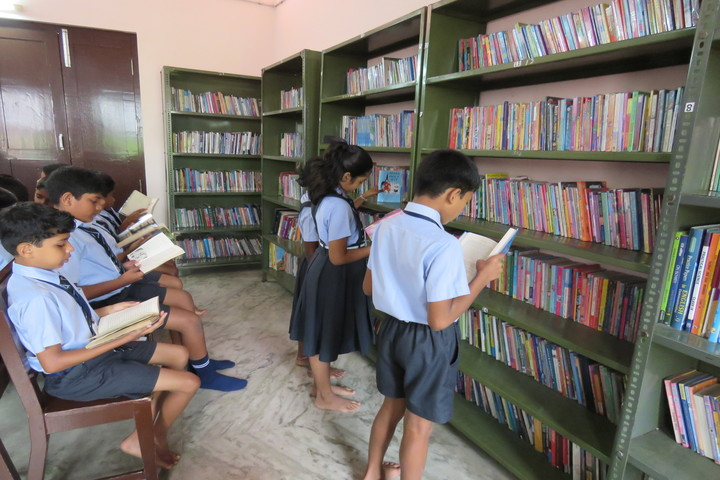 St Julianas Public School-Library