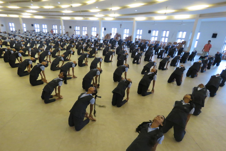 St Julianas Public School-Yoga