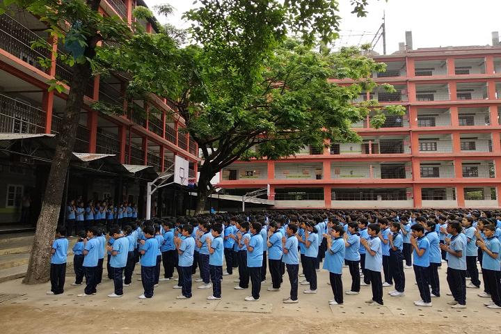 Shrimanta Shankar Academy-Assembly