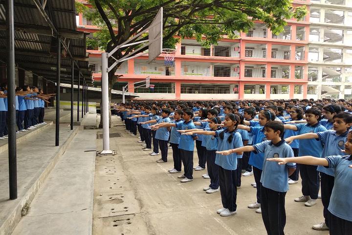 Shrimanta Shankar Academy-Oath Taking
