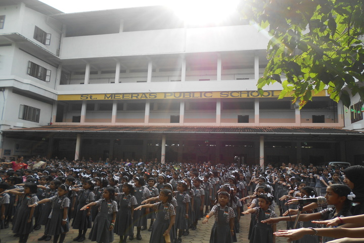 St Meeras Public School-Assembly