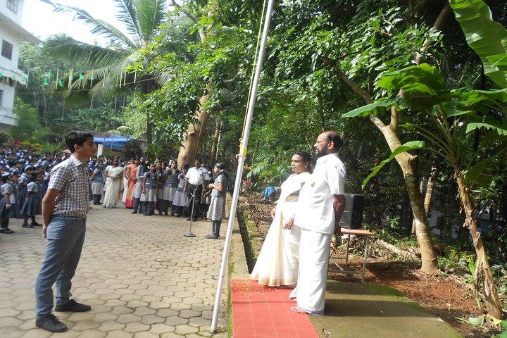 St Meeras Public School-Independence Day
