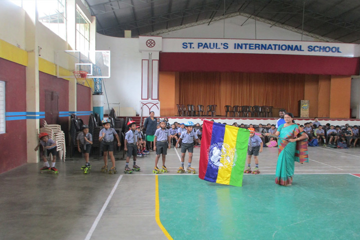 St Paul s International School-Skating