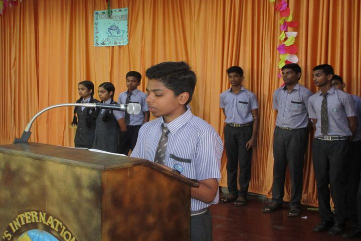 St Paul s International School-Speech