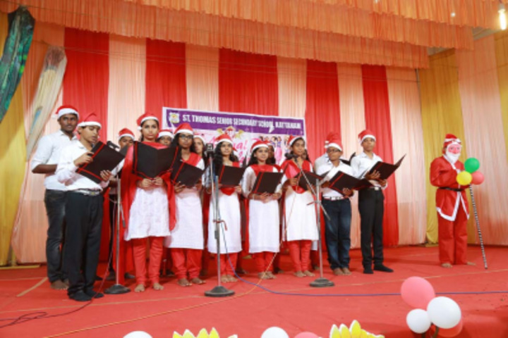 St Thomas English Medium School-Christmas Celebrations