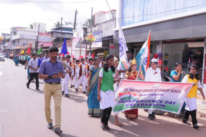 St Thomas English Medium School-Independence Day