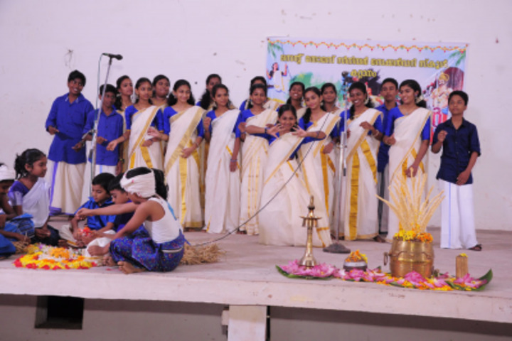 St Thomas English Medium School-Onam Celebrations