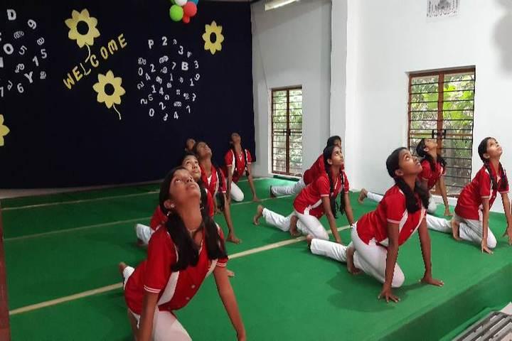 St Thomas Public School-International Yoga Day