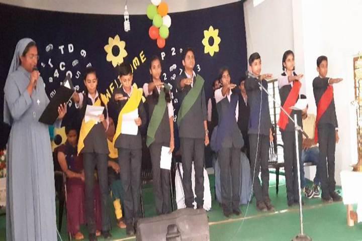 St Thomas Public School-Investiture Ceremony