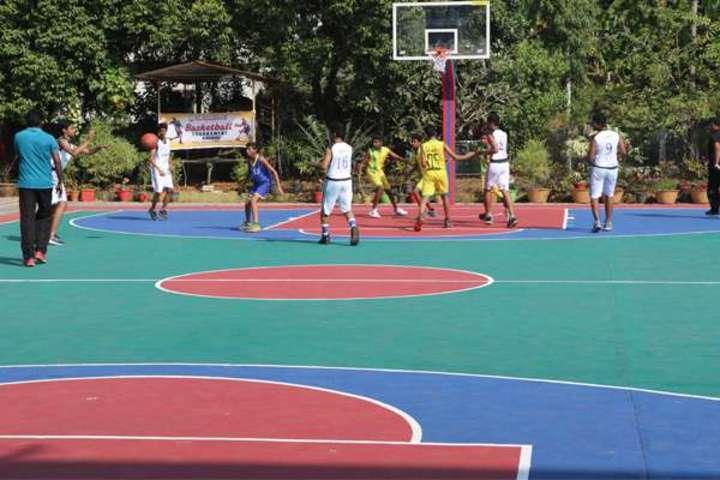 """St Antonys Public School-Basket Ball Court"""