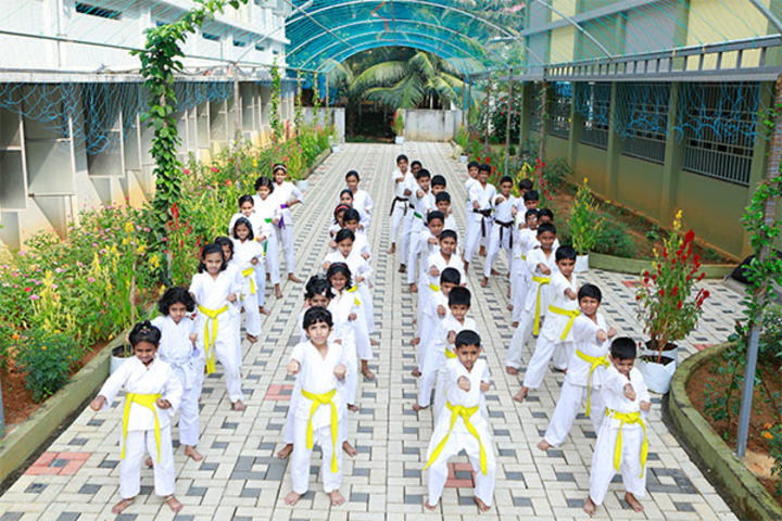 """St Antonys Public School-Karate"""