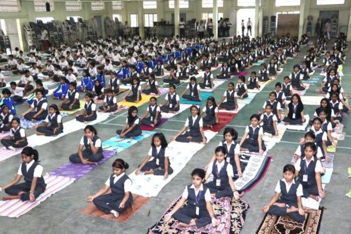 """St Antonys Public School-Yoga"""