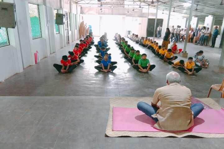 St Antonys English Medium School-Yoga