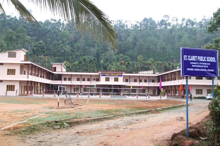 St Claret Public School-Campus