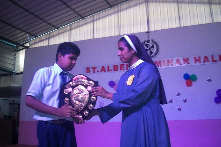 St Dominic Convent English Medium School-Prize Distribution