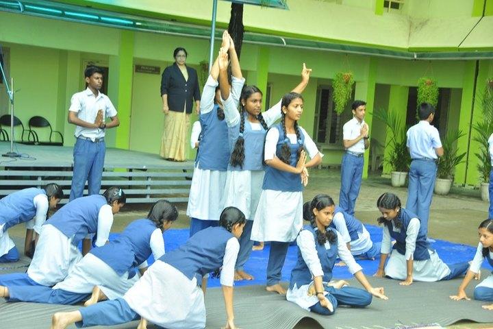 St John S School-Yoga Day