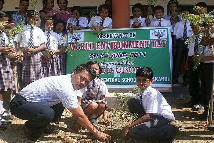 Spring Valley Central School- World Environment Day