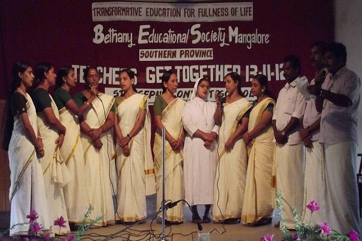 St Joseph Convent School-Group Singing