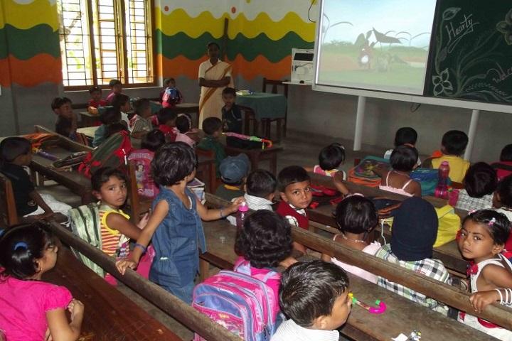 St Joseph Convent School-LKG Students Class Room