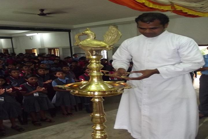 St Joseph Convent School-Lighting The Lamp