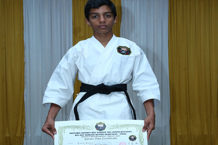 St  Lucy E M School-Karate