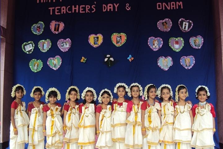 St  Lucy E M School-Onam Celebration
